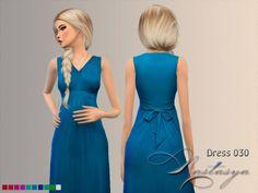 Dress Maternity Sleeveless Maxi 030 at Nastasya94 • Sims 4 Updates