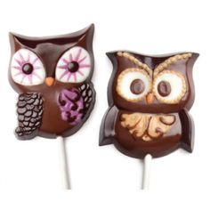 Owl Pops Candy Mold (Set of 6 Molds) [1101 Owl Pops Candy Mold] : Wholesale Wedding Supplies, Discount Wedding Favors, Party Favors, and Bulk Event Supplies