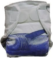 Upcycle old T-shirts into cloth diapers.  Good for the environment, and easy on your wallet!