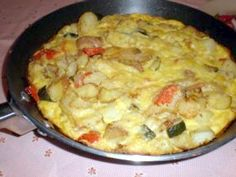 Aussie Frittata recipe - substantial meal and easy to make too.  Find more recipes at http://www.cheap-and-easy-recipes.com
