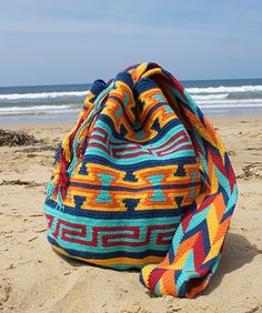 Wayuu mochila Famous Colourful handmade Colombian bags in Australia. (The Wayu Collection). Sydney fashion and clothing trends. Australia