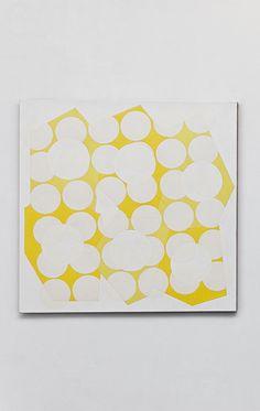 Six formes , 2010, Oil on canvas, 100 x 100 cm, photo: Aurélien Mole, Collection FRAC Bretagne, Rennes, France