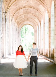 Parisian inspired engagement session // photo by brklyn view photography