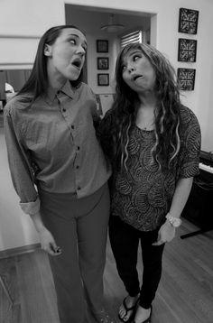 Kirstie and miranda sings!