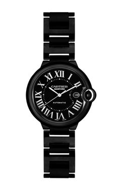 Cartier Ballon Bleu With Date And Automatic Movement by Bamford Watch Department - Moda Operandi