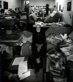 The Art Of Photographing Artists: Portraits By Arnold Newman - American photojournalist W. Eugene Smith, New York City, 1977