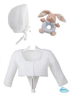 Chaqueta de lana y capota  de Navidad  MORDEDOR O SONAJERO DE REGALO!!!
