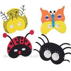Kids love masks. Make them during the party or for little ones have them premade/bought.
