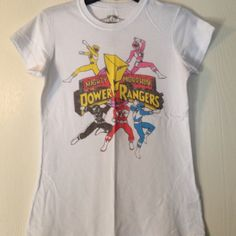 Power rangers t-shirt Awesome power rangers t-shirt! Barely worn! Tops Tees - Short Sleeve
