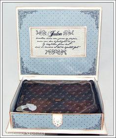 Mariannes papirverden.: Sjokoladeeske med mal og mål:) Diy And Crafts, Paper Crafts, Exploding Boxes, Decoupage, Christmas Cards, Decorative Boxes, Home Decor, Envelopes, Scrapbooking