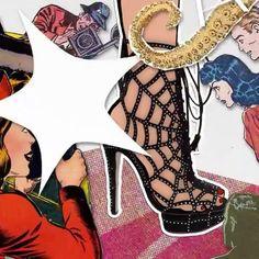 """União de teias: @charlotte_olympia armou parceria com a @marvel e lança coleção-cápsula inspirada no universo do Homem Aranha em 05.07 às vésperas da estreia do filme """"Spider-Man: Homecoming"""". Peças como a tradicional sapatilha Kitty ganham a icônica roupagem vermelha do personagem e bordados com teias. Veja no vídeo aperte o play! #charlotteolympia #homemaranh #spiderman  via VOGUE BRASIL MAGAZINE OFFICIAL INSTAGRAM - Fashion Campaigns  Haute Couture  Advertising  Editorial Photography…"""