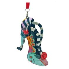 Sally Shoe Ornament