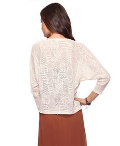 lace cardigan, $20 forever21.com #ForeverHoliday