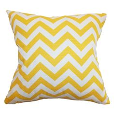 Chevron Pillow...I saw these at Gordman's today and almost pulled the trigger to add a pop of color in my living room.  May go back!