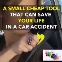 Lifeguard Car Safety Tools car life hacks tips Car Gadgets, Gadgets And Gizmos, Simple Life Hacks, Useful Life Hacks, Things To Know, Cool Things To Buy, Stuff To Buy, Silvester Party, Car Hacks