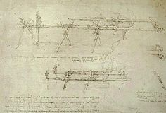 Water and Land Machines - Leonardo Da Vinci (1452-1519) Drawings Album