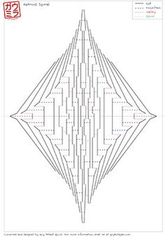 kirigami templates pinteres