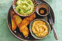Om een broodje in te dippen: 3x hummus. Een basisrecept, een variant met peper en een met limoen - Recept - Allerhande