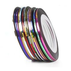 Great Fashion 18 Color Rolls Striping Tape Line Nail Art Decoration Sticker New -- Continue to the product at the image link.