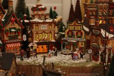 Christmas Village Displays | Christmas Village – 2012 Virtual Advent Tour