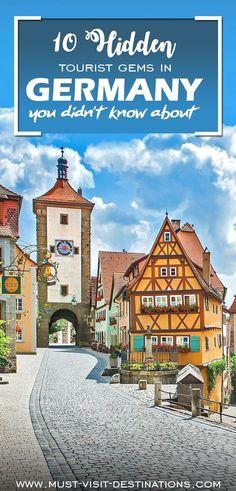 10 Hidden Tourist Gems In Germany You Didn't Know About #Germany #travel Germany Travel В нашем блоге гораздо больше информации http://storelatina.com/germany/travelling #viagemalemanha #viagem