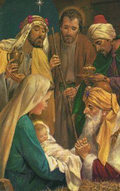 Christian Paintings, Christian Artwork, Christian Images, Christmas Scenery, Christmas Background, Christmas Pictures, Pictures Of Jesus Christ, Bible Pictures, Christmas Quotes Jesus