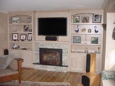 Media wall - for family room and we already have the fireplace