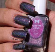 Neither Here Noir There - Cupcake Polish  Falling Back in Time Collection