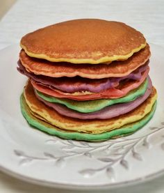 Today is my daughter's birthday, and for breakfast we made her her favorite: rainbow pancakes! We used ourpancake recipe, divided it into small portions, and dyedthem with food coloring according...