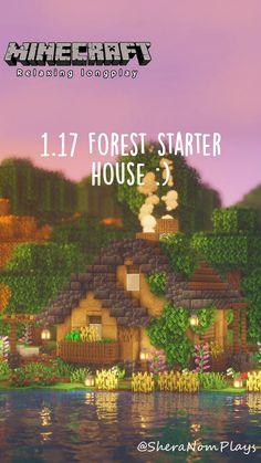 Minecraft House Plans, Minecraft Cottage, Cute Minecraft Houses, Minecraft Funny, Minecraft Tips, Minecraft Bedroom, Minecraft Tutorial, Minecraft Blueprints, Minecraft Creations