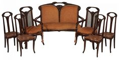 Lot 346: Very Fine Louis Majorelle Art Nouveau - Brunk Auctions | AuctionZip
