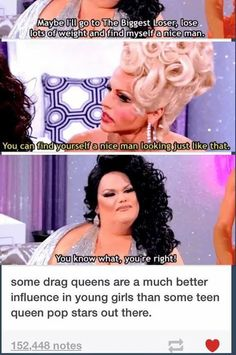 Rupaul's Drag Race Darienne Lake is awesome. She's funny, talented, and proving . - Rupaul's Drag Race Darienne Lake is awesome. She's funny, talented, and proving that she can go - Faith In Humanity Restored, Rupaul Drag, Drag Queens, Social Justice, Human Rights, Equality, Just In Case, At Least, Awesome