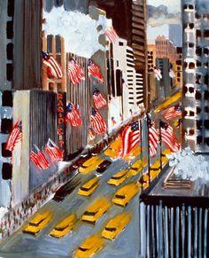 New York Yellow Cab #6 -