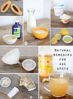 Even though age spots are harmless, they're still a bummer! But the GOOD news is that there are lots of simple, all-natural remedies you can use to lighten brown spots at home!