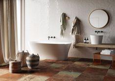 DIZAJNOVÁ KÚPEĽŇA - Výnimočné talianske obklady / BENEVA Clawfoot Bathtub, Bathroom, Clawfoot Tub Shower, Bath Room, Bathrooms, Bath, Bathing, Bathtub, Toilet