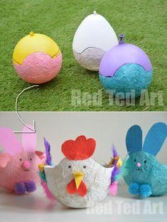 Gyorsan, egyszerűen, fillérekből: 18 top ötlet a húsvéti dekorációhoz – morzsaFARM