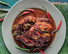Indische gegrilde hete kip - 24Kitchen