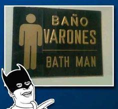 Na Na Na Na Na Na Na Bath Man #ImagenDelDia