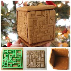 Star Trek Gingerbread Borg Cookie Box l @nerdist