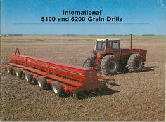 IH 5100 and 6200 Grain Drills