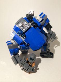 Lego TitanFall 2. Ion Prime. Lego Titanfall, Lego Mechs, Awesome Lego, Cool Lego, Lego Robot, Lego Building, Lego Creations, Military, Suit