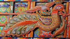 Do You Know About Truck Art- Pakistani truck art inspiration in fashion & trends. from home accessories to designer outfits. Truck art trend is increasing. Truck Art Pakistan, Mughal Architecture, India Colors, Colours, Indigenous Art, Pattern Art, Art Patterns, Art Google, Pin Collection