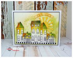 Card by Debra featuring The Bee's Knees Houses