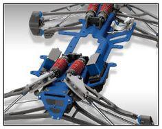 Revo 3.3 (#5309/#5308) 3D Semi-Monocoque Chassis