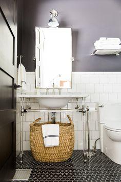 Black and White Bathroom || Studio McGee