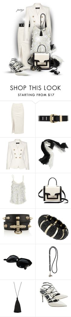"""""""Simply Creamy"""" by rockreborn ❤ liked on Polyvore featuring Walk of Shame, MICHAEL Michael Kors, Balmain, Sofia Cashmere, Beyond Vintage, Kate Spade, Givenchy, Dorothy Perkins, Catherine Michiels and Zacasha"""
