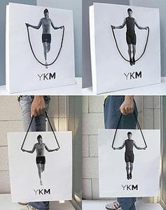 Creative Advertising : work out! creative bag ad Creative Advertising Inspiration work out! creative bag ad Advertisement Description work out! creative bag ad Don't forget to share the post, Sharing is sexy ! Guerilla Marketing, Street Marketing, Viral Marketing, Fashion Marketing, Email Marketing, Creative Advertising, Advertising Design, Advertising Ideas, Creative Marketing Ideas