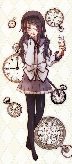 ❤٩(๑•◡-๑)۶❤ anime girl art illustration