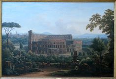 View of the Colosseum from the Palatine Hill Rome 1816 by Fedor Mikhailovich Matveev