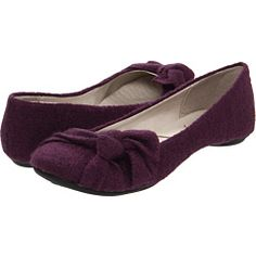 Great DYT Type 2 shoes!  Big Budda purple fabric flats $39.95 @Amy Coffield @Dressing Your Truth